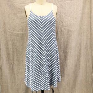 PRANA Blue White Seacoast Organic Cotton Dress